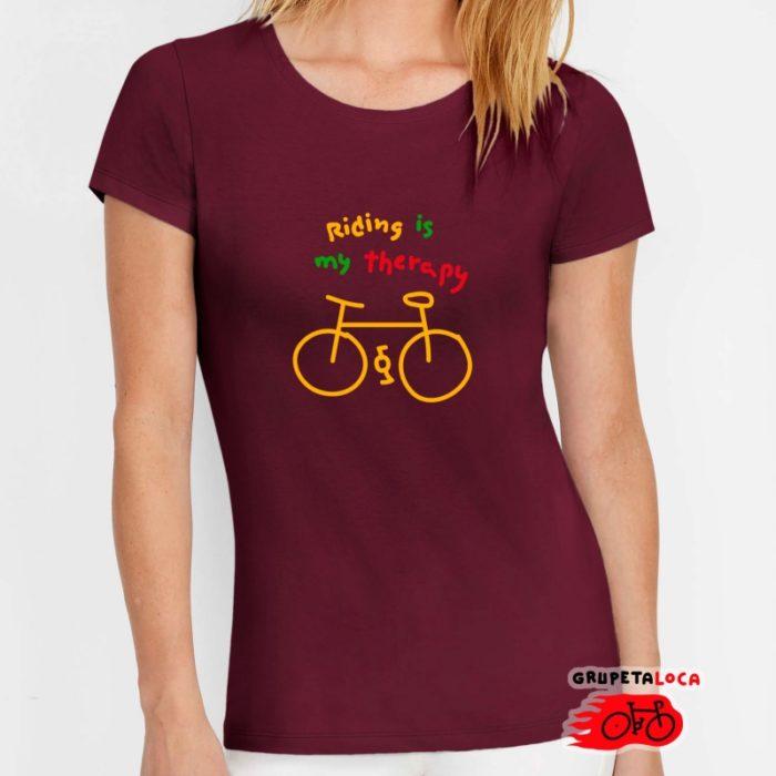 riding-lisa-mujer-borgoña-pancracio-bicis